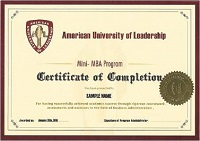 Программа двойного диплома мини mba совместно с Американским   получают диплом мини МВА Московского финансово юридического университета МФЮА а также сертификат мини МВА Американского университета лидерства
